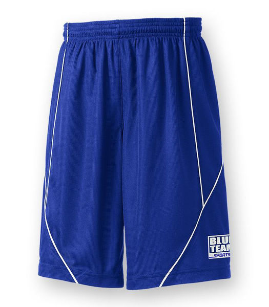 Picture of YT565 - Youth Reversible Spliced Shorts
